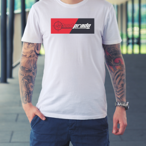 Shoot Prado White Logo Tee